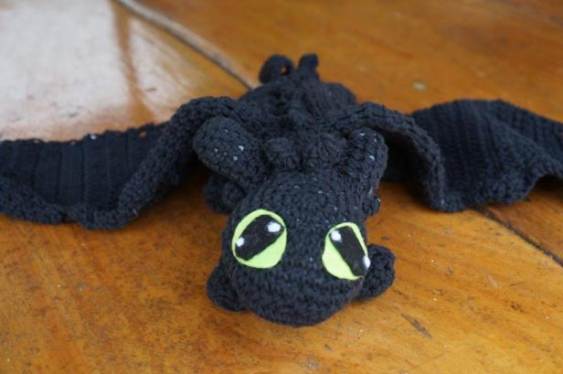 Toothless Crochet Dragon Crafty Souls Together